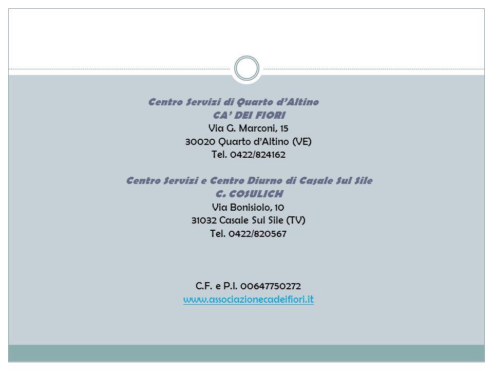 Centro Servizi e Centro Diurno di Casale Sul Sile