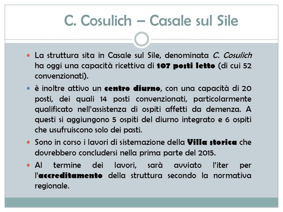 C. Cosulich – Casale sul Sile