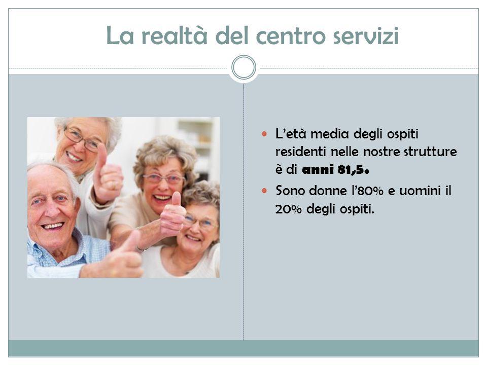 La realtà del centro servizi