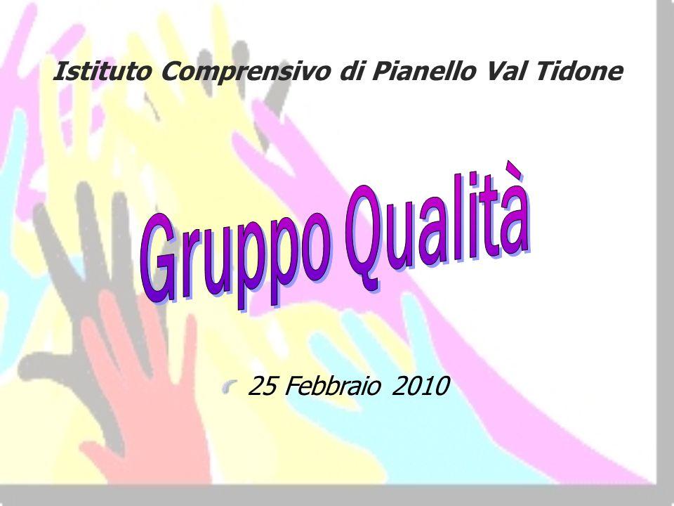 Gruppo Qualità Istituto Comprensivo di Pianello Val Tidone
