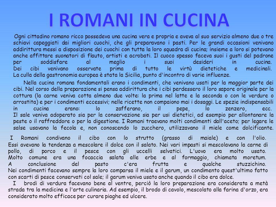 I ROMANI IN CUCINA