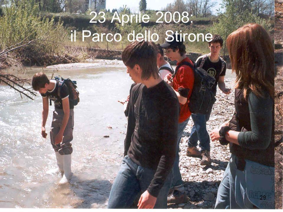 23 Aprile 2008: il Parco dello Stirone
