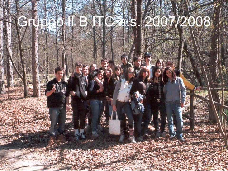 Gruppo II B ITC a.s. 2007/2008