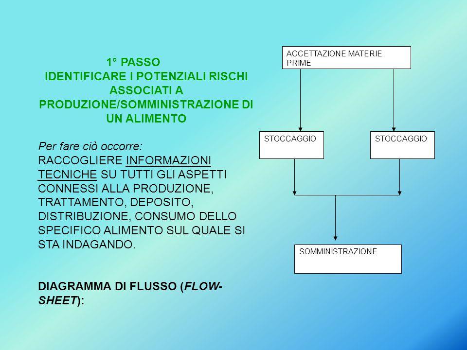 DIAGRAMMA DI FLUSSO (FLOW-SHEET):