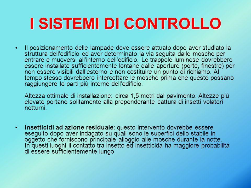 I SISTEMI DI CONTROLLO