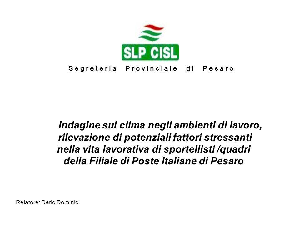 Relatore: Dario Dominici