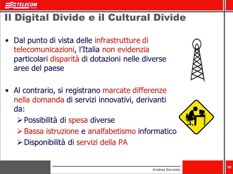 Il Digital Divide e il Cultural Divide
