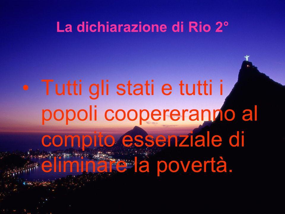 La dichiarazione di Rio 2°