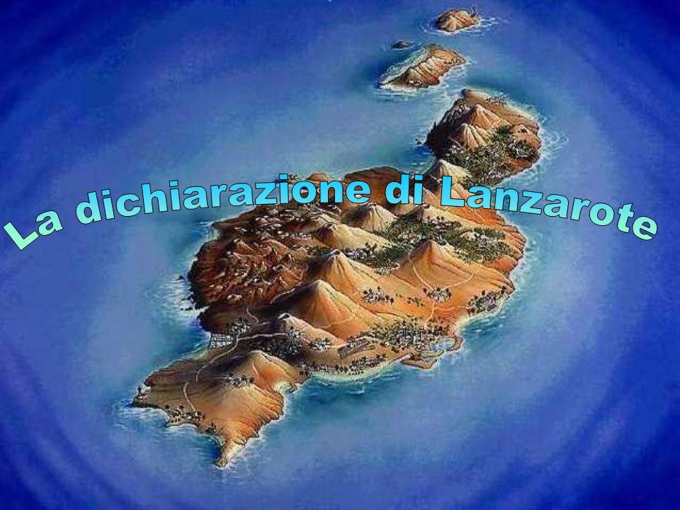 La dichiarazione di Lanzarote