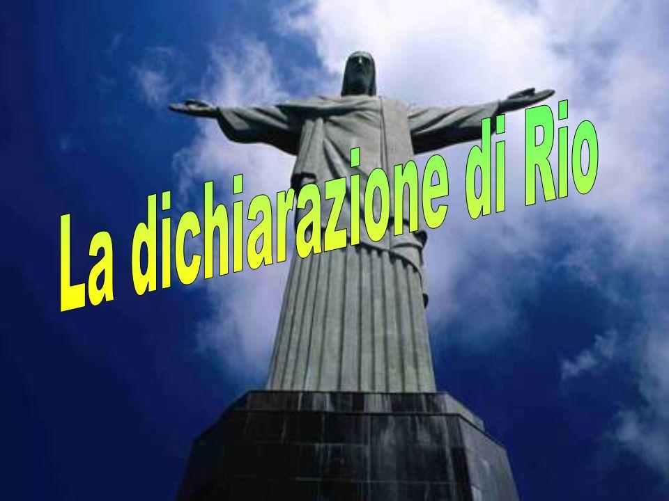 La dichiarazione di Rio