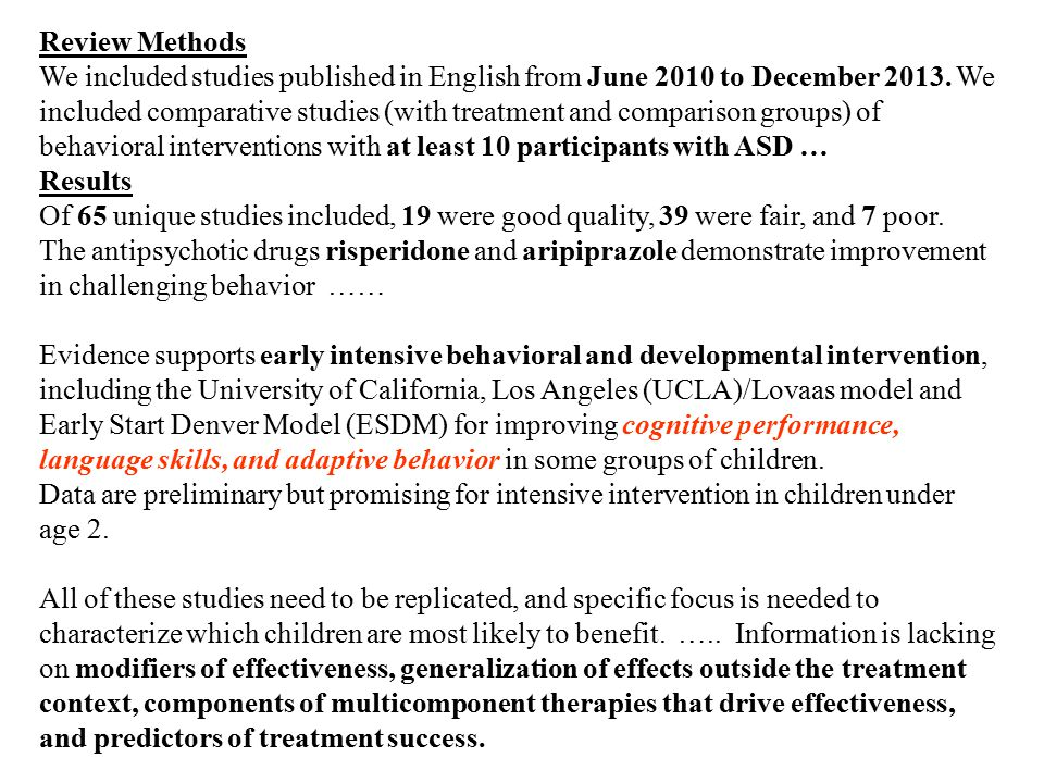 Review Methods