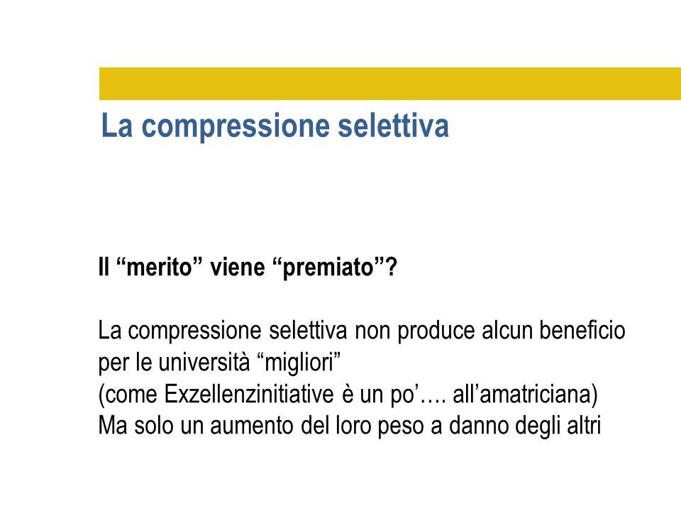 La compressione selettiva