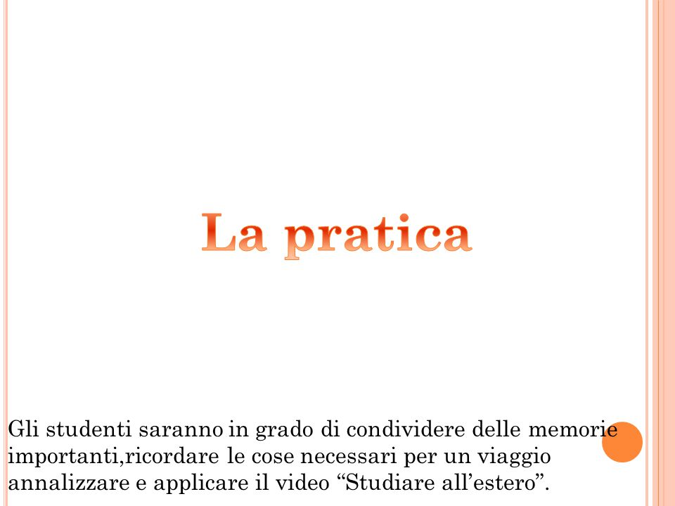 La pratica