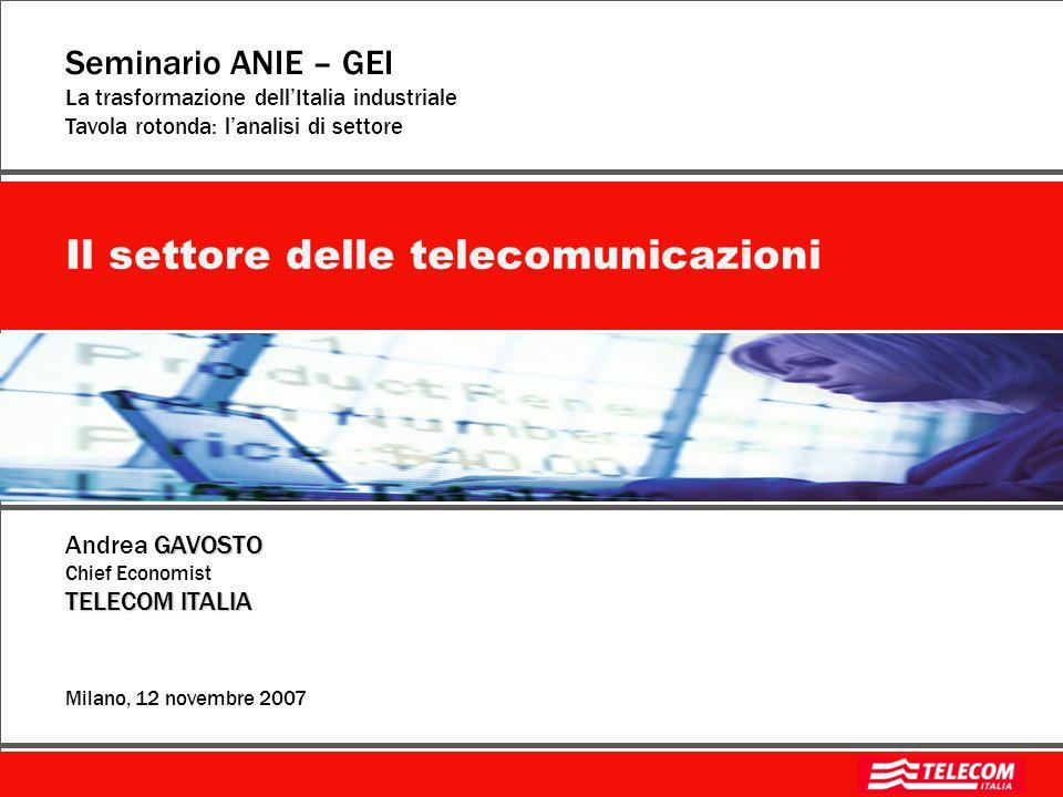 Il settore delle telecomunicazioni