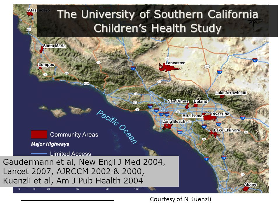 The University of Southern California Children's Health Study