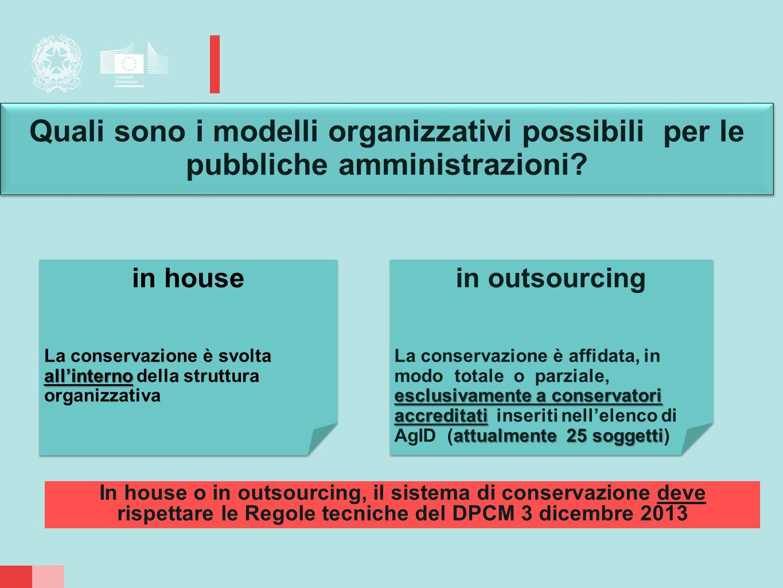 Quali sono i modelli organizzativi possibili per le pubbliche amministrazioni