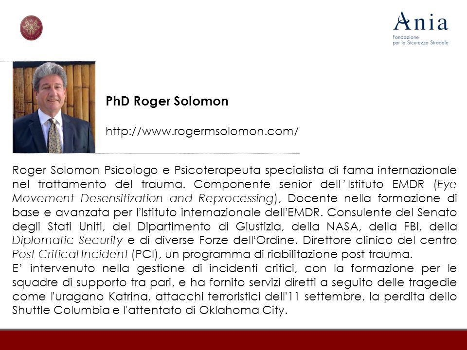 PhD Roger Solomon http://www.rogermsolomon.com/