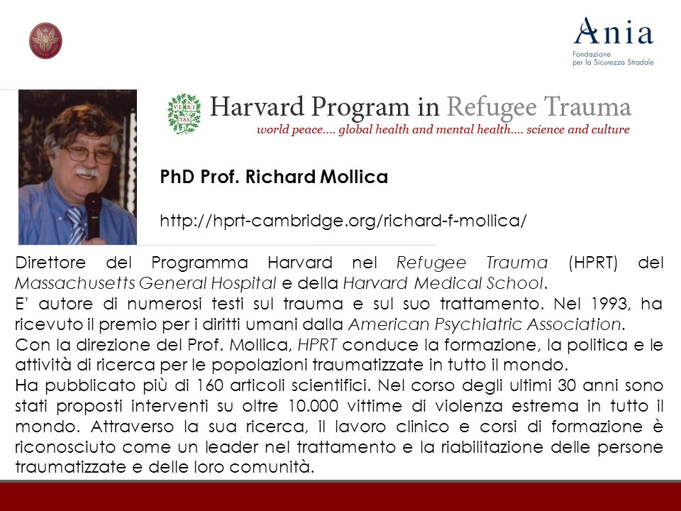 PhD Prof. Richard Mollica