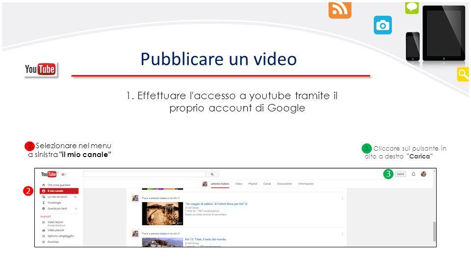 Effettuare l accesso a youtube tramite il proprio account di Google