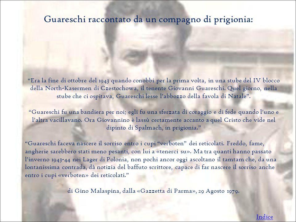 Guareschi raccontato da un compagno di prigionia: