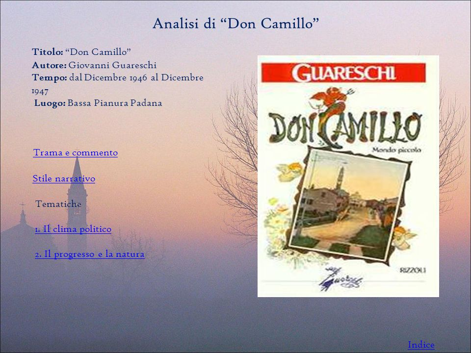 Analisi di Don Camillo
