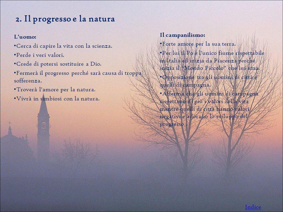 2. Il progresso e la natura