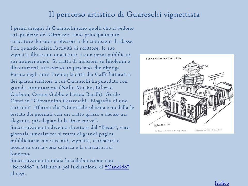 Il percorso artistico di Guareschi vignettista