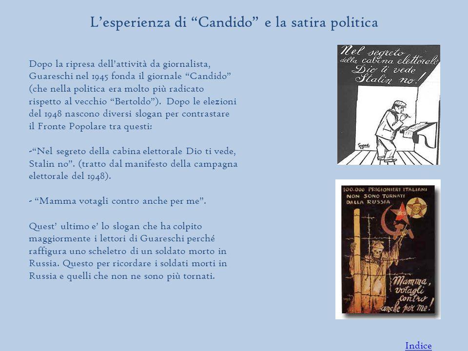 L'esperienza di Candido e la satira politica