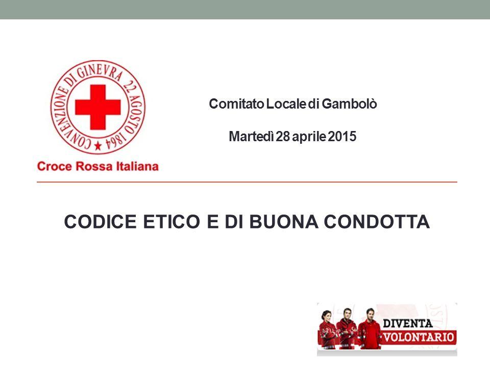 Comitato Locale di Gambolò Martedì 28 aprile 2015