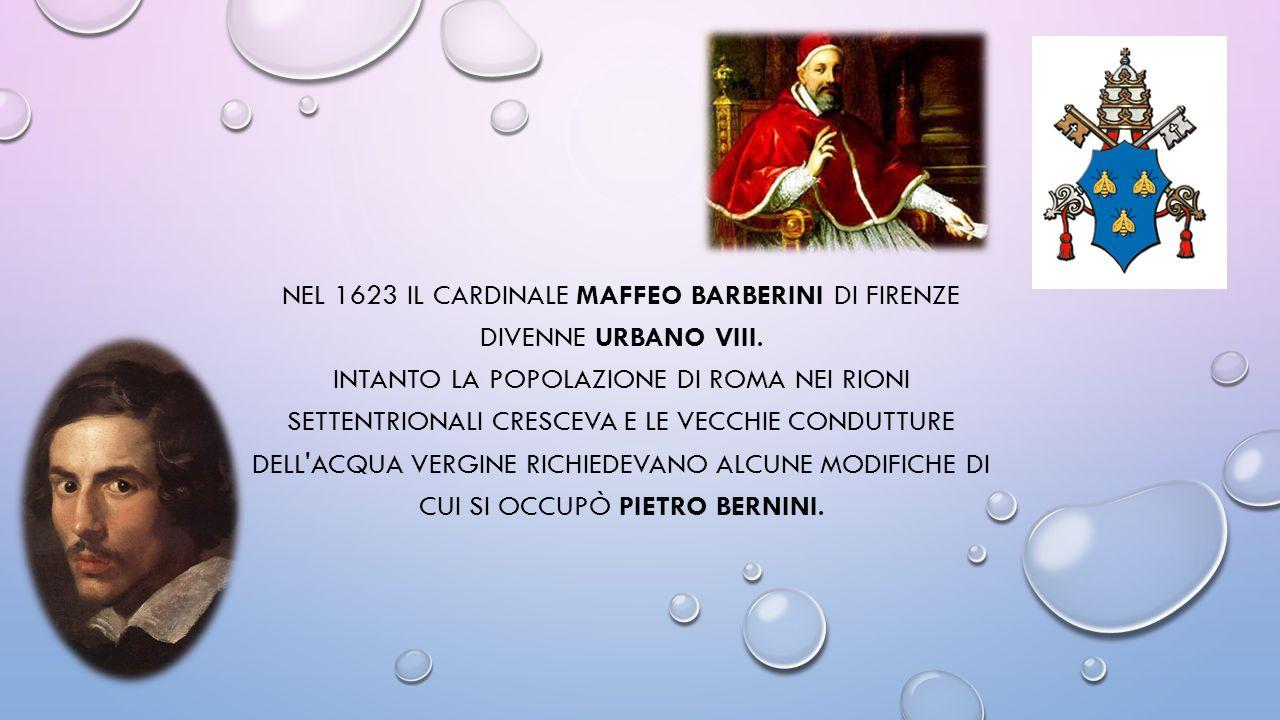 Nel 1623 il cardinale Maffeo Barberini di Firenze divenne Urbano VIII