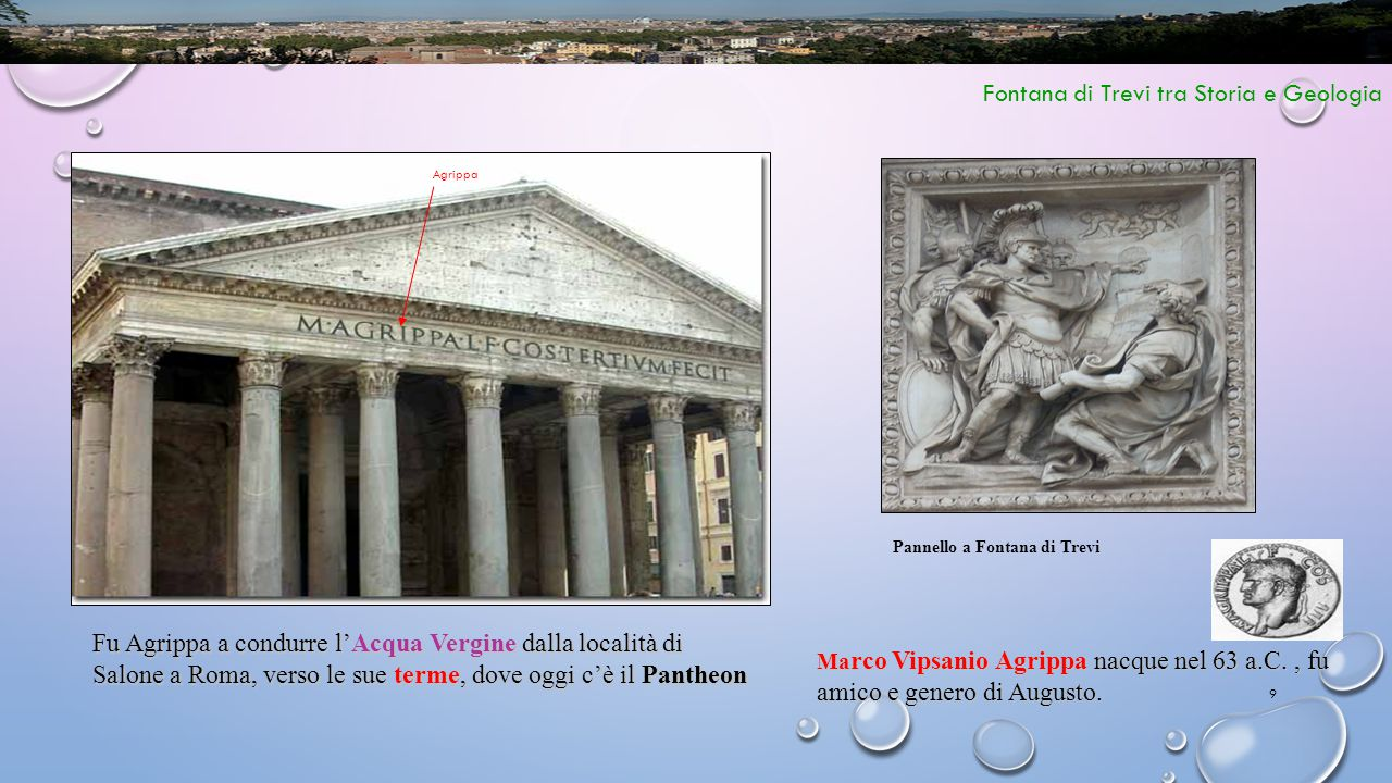 Fontana di Trevi tra Storia e Geologia