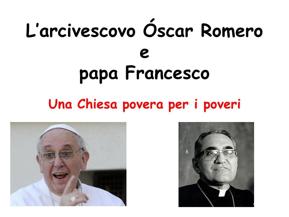 L'arcivescovo Óscar Romero e papa Francesco