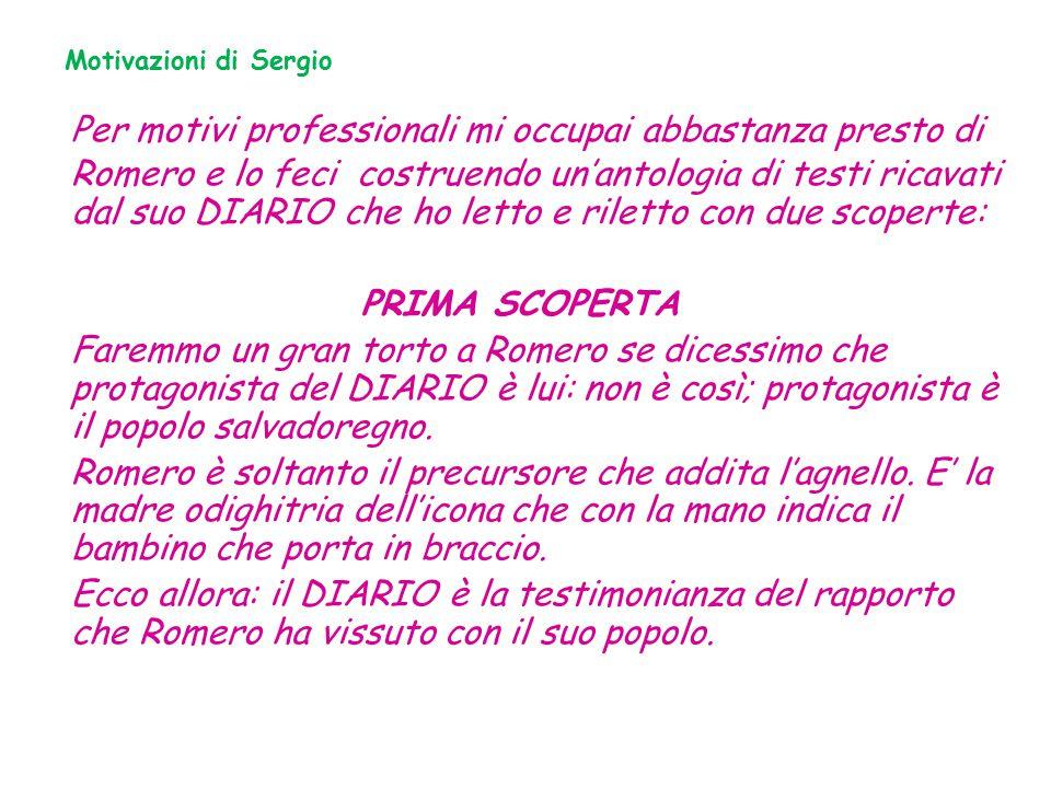 Motivazioni di Sergio