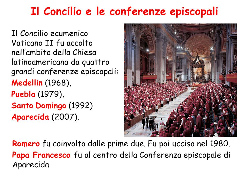 Il Concilio e le conferenze episcopali