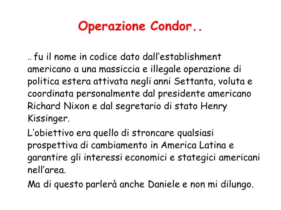 Operazione Condor..