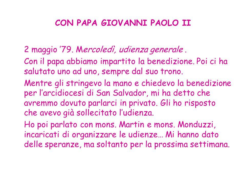 CON PAPA GIOVANNI PAOLO II