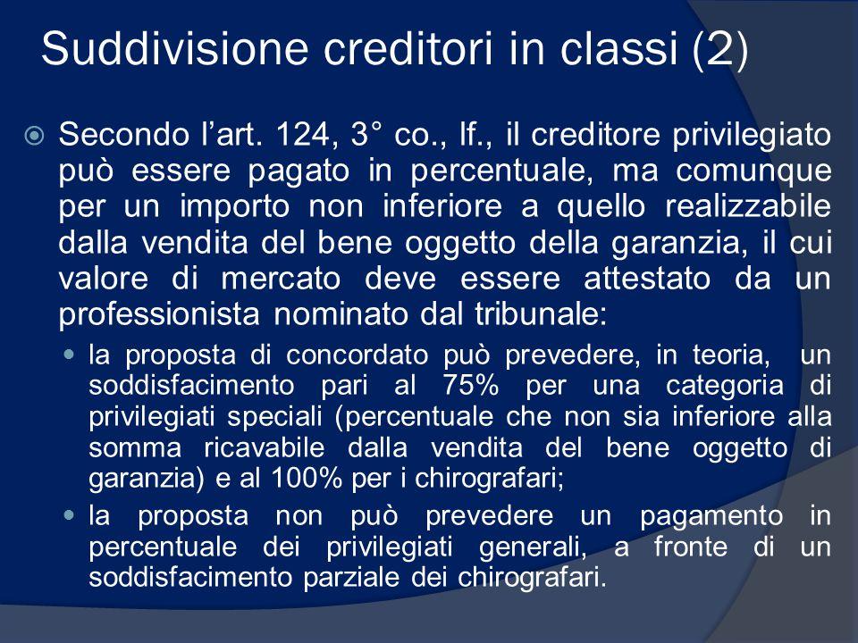 Suddivisione creditori in classi (2)