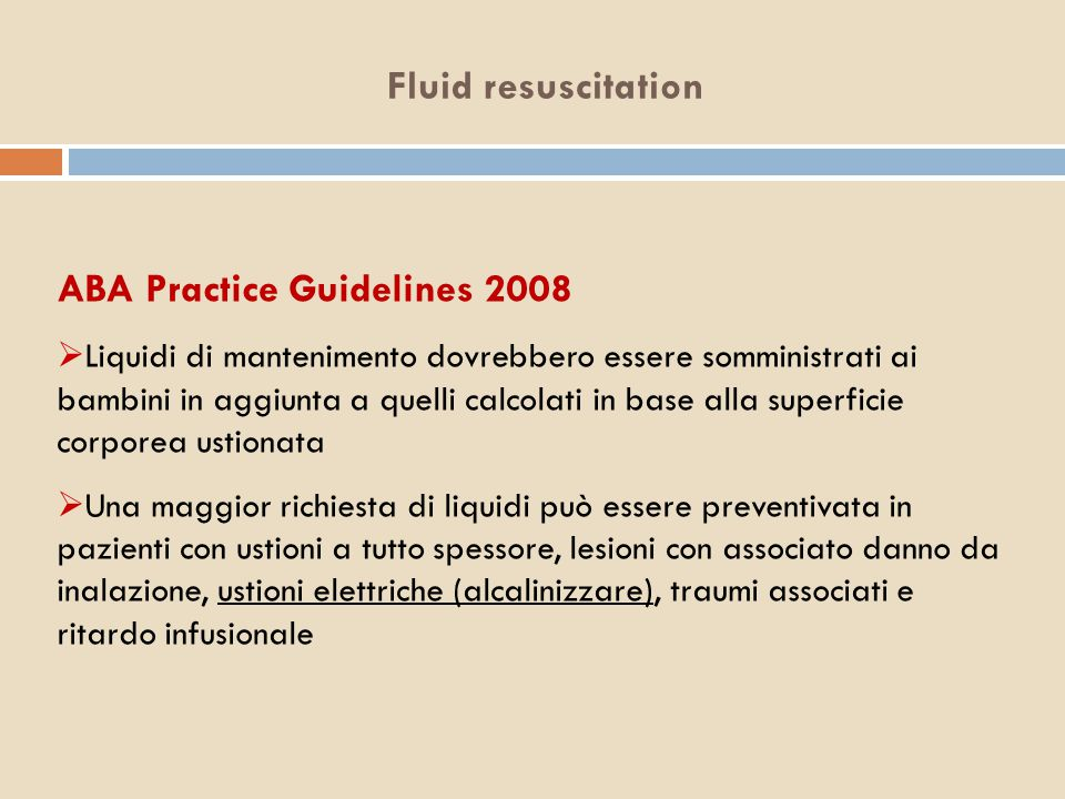 ABA Practice Guidelines 2008