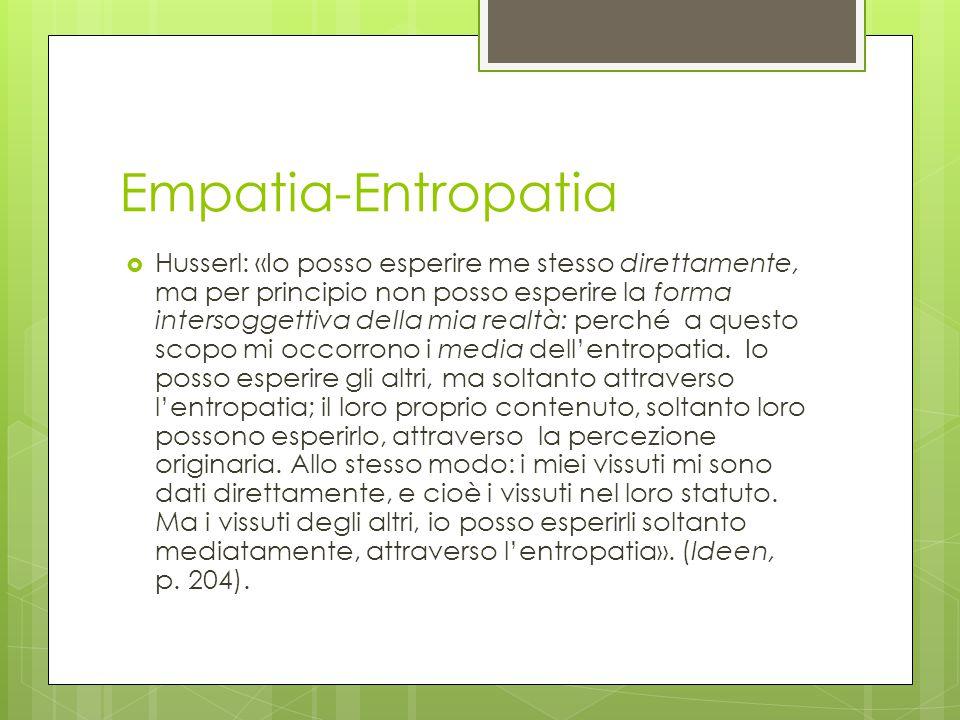 Empatia-Entropatia
