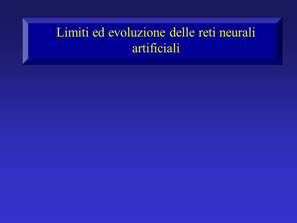 Limiti ed evoluzione delle reti neurali artificiali
