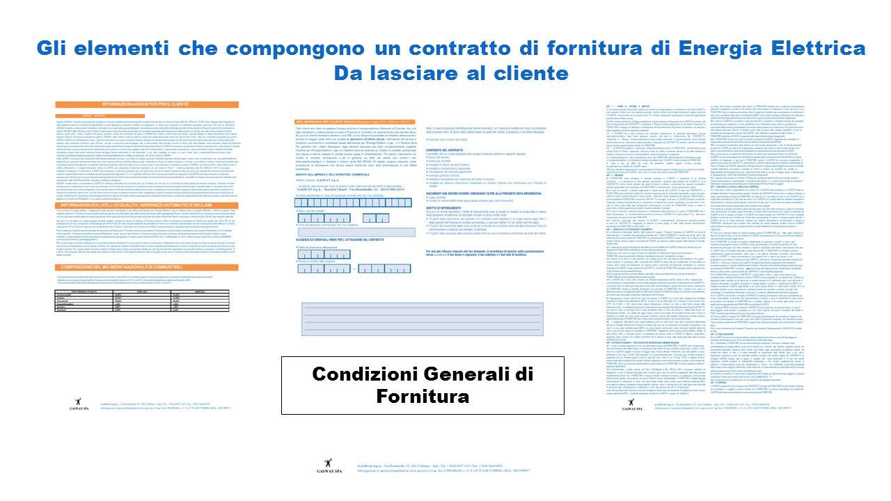 Condizioni Generali di Fornitura
