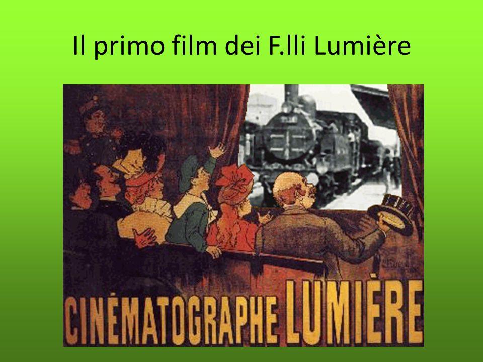 Il primo film dei F.lli Lumière
