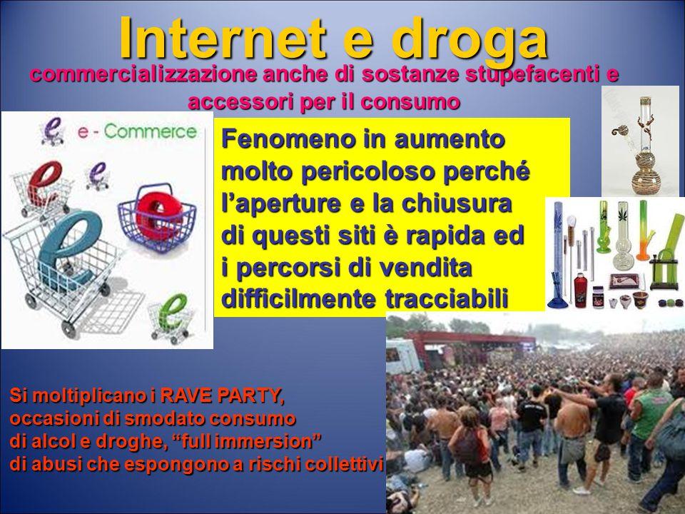 Internet e droga Fenomeno in aumento molto pericoloso perché