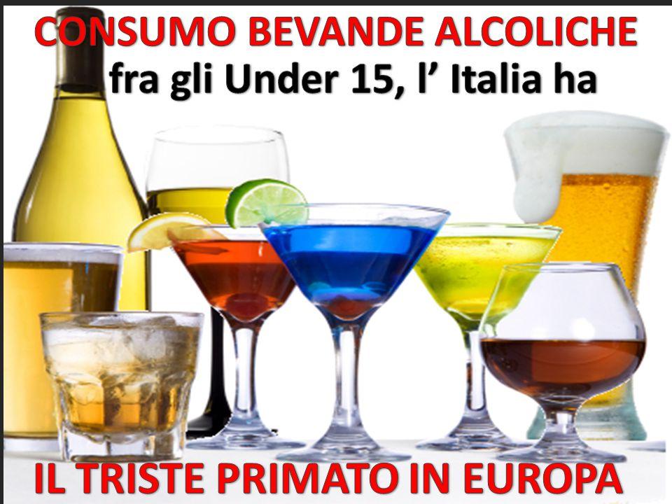 IL TRISTE PRIMATO IN EUROPA