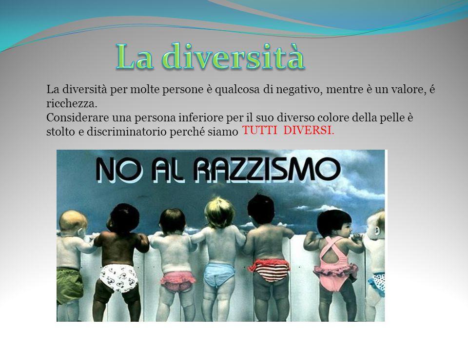 La diversità