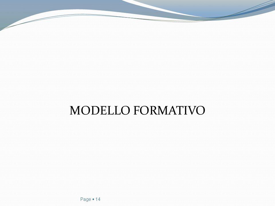 MODELLO FORMATIVO Page  14