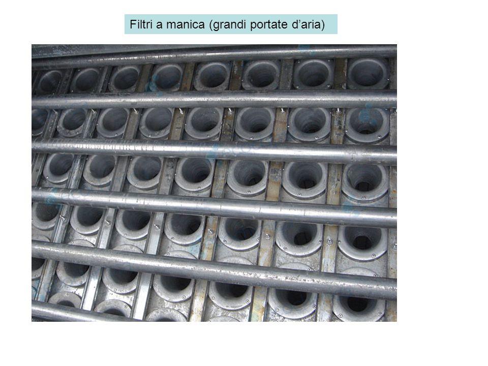 Filtri a manica (grandi portate d'aria)