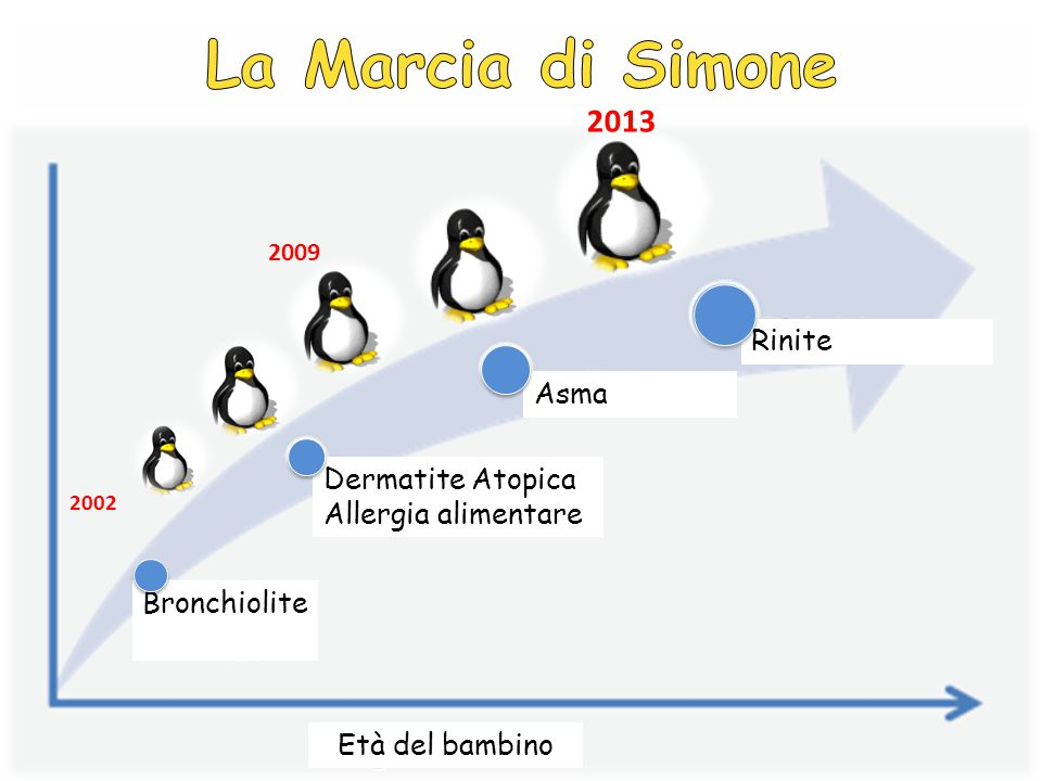 La Marcia di Simone 2013 Rinite Asma Dermatite Atopica