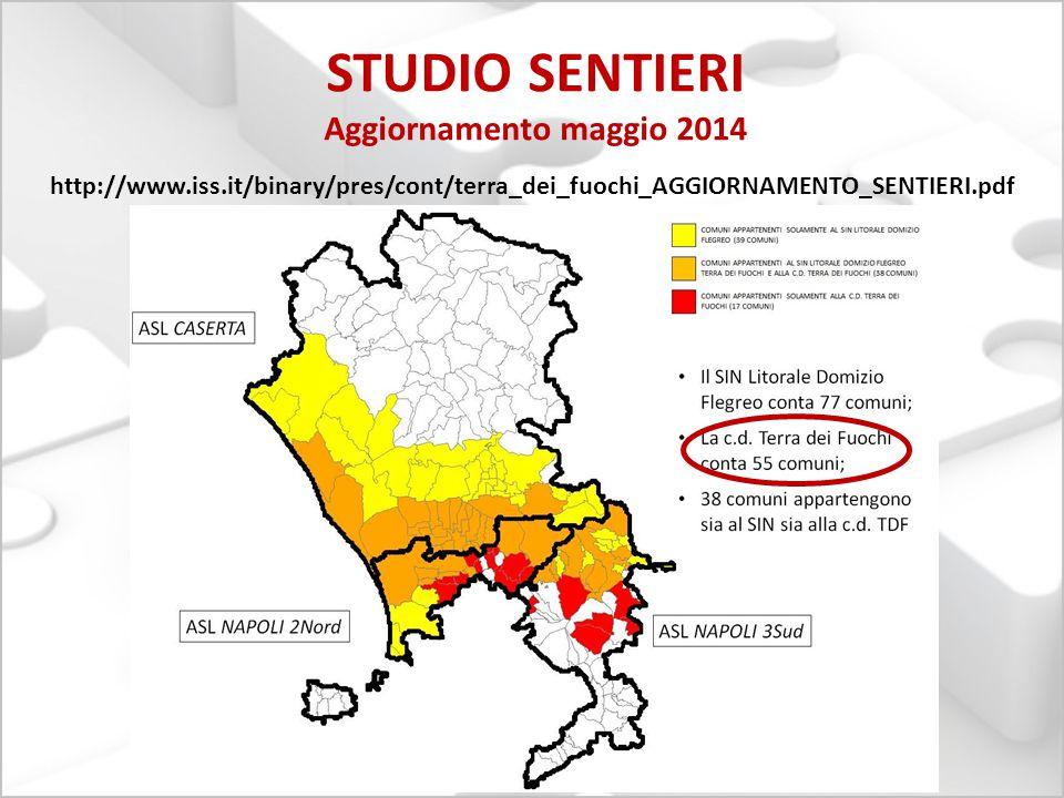 STUDIO SENTIERI Aggiornamento maggio 2014