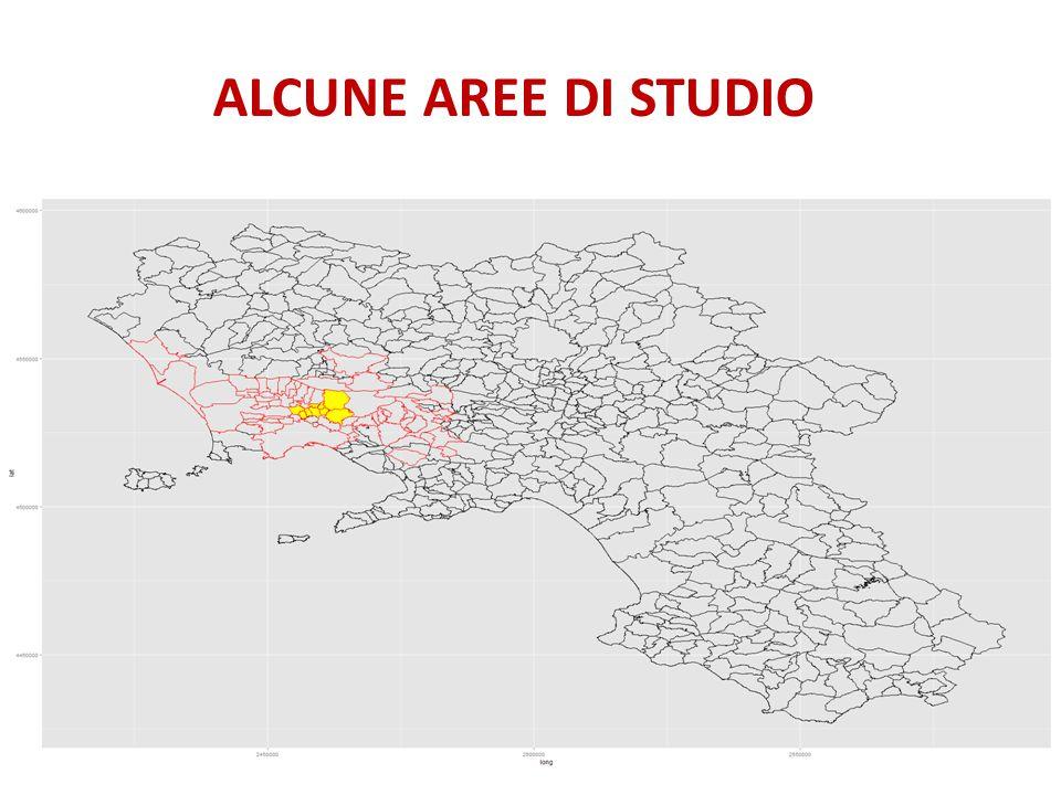 ALCUNE AREE DI STUDIO